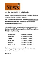 Food Service Meal Schedule