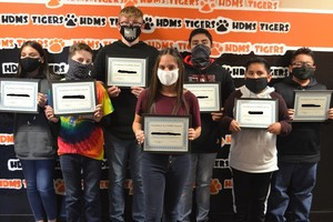 HDMS students recognized with awards